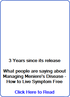 what people are saying about Managing Meniere's
